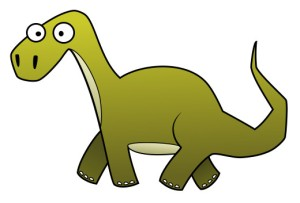 No, not this type of dino!