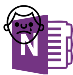 sad for onenote